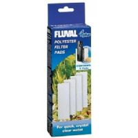 Fluval 4 + Plus Poly Polyester Pad Genuine Product Pack of 4 X3